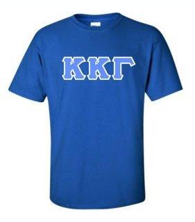 Kappa Kappa Gamma Sewn Lettered Shirts