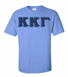 Kappa Kappa Gamma Lettered T-shirt - MADE FAST!