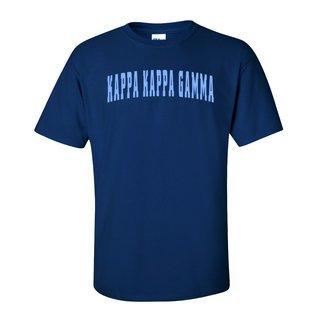 Kappa Kappa Gamma Letterman T-Shirts