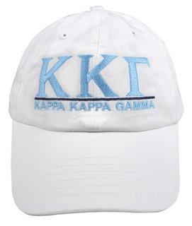 Kappa Kappa Gamma World Famous Line Hat