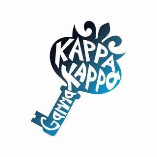 Kappa Kappa Gamma Mascot Greek Letter Sticker
