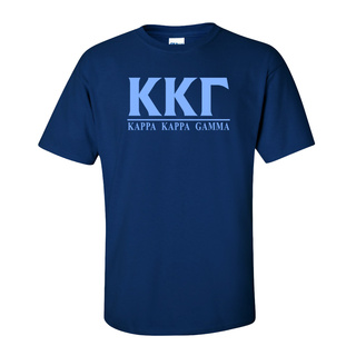 Kappa Kappa Gamma Message T-Shirts