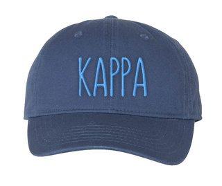Kappa Kappa Gamma Mod Comfort Colors Pigment Dyed Baseball Cap