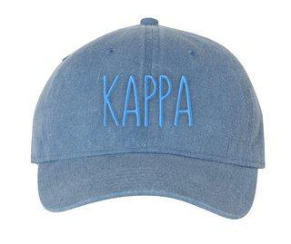 Kappa Kappa Gamma Mod Pigment Dyed Baseball Cap