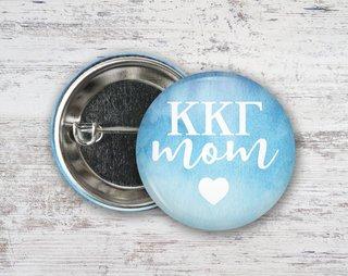 Kappa Kappa Gamma Mom Button
