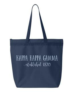 Kappa Kappa Gamma New Established Tote Bag