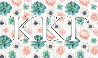Kappa Kappa Gamma New Succulent Flag