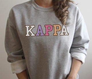 Kappa Kappa Gamma Nickname Crew Sweatshirt