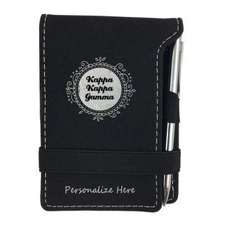 Kappa Kappa Gamma Notepad With Pen