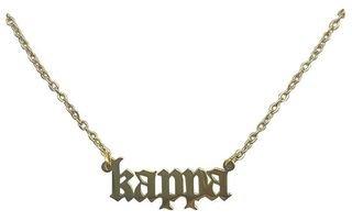 Kappa Kappa Gamma Old English Necklaces