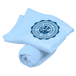 Kappa Kappa Gamma Old School Seal Sweatshirt Blanket