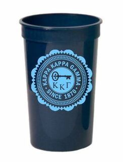 Kappa Kappa Gamma Old Style Classic Giant Plastic Cup