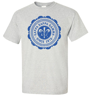 Kappa Kappa Gamma Old Style Classic T-Shirt