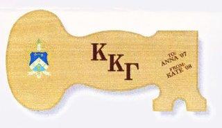 Kappa Kappa Gamma Decorative Plaque