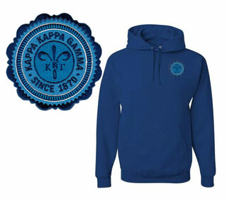 Kappa Kappa Gamma Patch Seal Hooded Sweatshirt