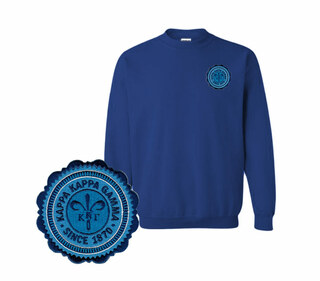 Kappa Kappa Gamma Patch Seal Sweatshirt