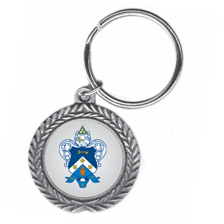 Kappa Kappa Gamma Pewter Key Ring