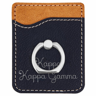 Kappa Kappa Gamma Phone Wallet with Ring