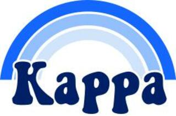 Kappa Kappa Gamma Rainbow Decals