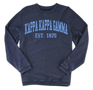 Kappa Kappa Gamma Rally Corduroy Crew