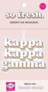 Kappa Kappa Gamma Retro Air Freshener (2 pack)