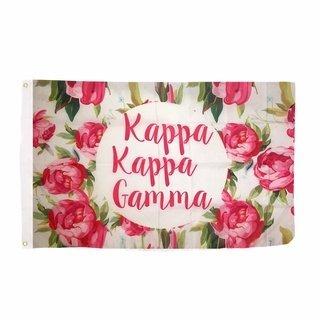 Kappa Kappa Gamma Rose Flag
