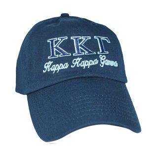 Kappa Kappa Gamma Script Cap