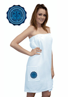 DISCOUNT-Kappa Kappa Gamma Seal Towel Wrap