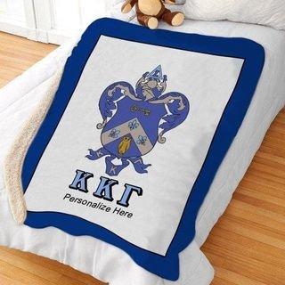 Kappa Kappa Gamma Sherpa Lap Blanket
