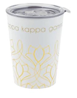 Kappa Kappa Gamma Short Coffee Tumblers