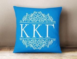 Kappa Kappa Gamma Simple Pillow
