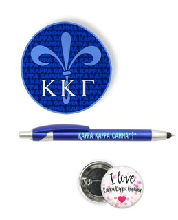 Kappa Kappa Gamma Sorority Pack $5.99