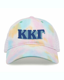 Kappa Kappa Gamma Sorority Sorbet Tie Dyed Twill Hat
