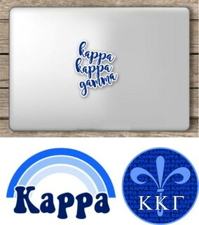 Kappa Kappa Gamma Sorority Sticker Collection - SAVE!