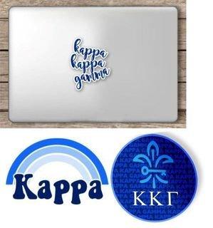 Kappa Kappa Gamma Sorority Sticker Collection - SAVE!