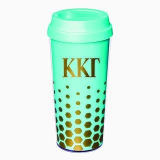 Kappa Kappa Gamma Sparkle Coffee Tumblers