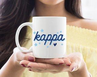 Kappa Kappa Gamma Star Mug