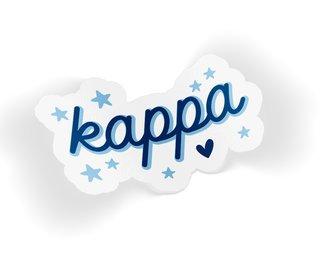 Kappa Kappa Gamma Star Sticker