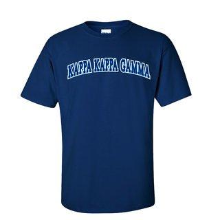 Kappa Kappa Gamma Super Saver Letterman T-Shirt