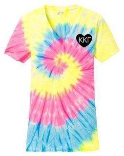 Kappa Kappa Gamma Tie-Dye V-Neck Tee