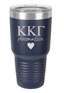 Kappa Kappa Gamma Vacuum Insulated Tumbler