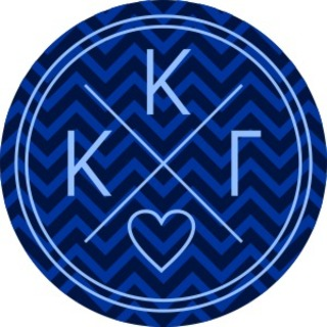 Kappa Kappa Gamma Well Balanced Round Decals
