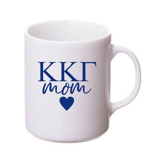 Kappa Kappa Gamma White Personalized Coffee Mug
