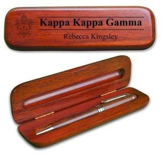 Kappa Kappa Gamma Wooden Pen Set