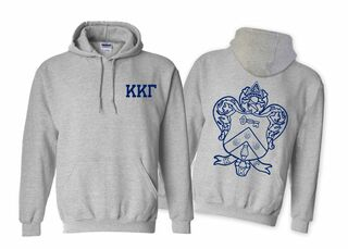 Kappa Kappa Gamma World Famous Crest Hooded Sweatshirt- $35!