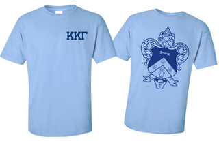 Kappa Kappa Gamma World Famous Greek Crest T-Shirts - $16.95!- MADE FAST!