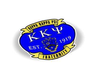 Kappa Kappa Psi Banner Crest - Shield Decal
