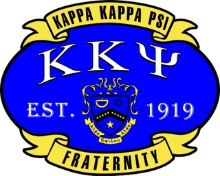 Kappa Kappa Psi Banner Crest - Shield Decal