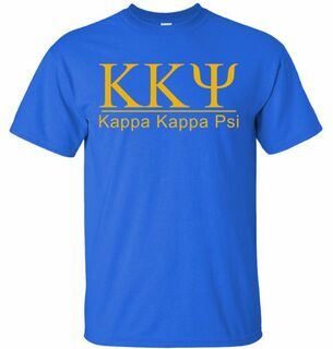 Kappa Kappa Psi bar tee