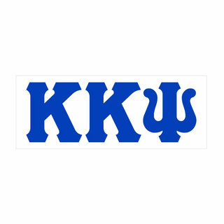Kappa Kappa Psi Big Greek Letter Window Sticker Decal